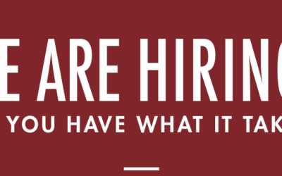 We Are Hiring – Part Time Administration Assistant